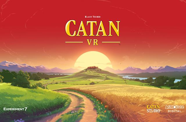 Classic board game 'Catan' is coming to VR, of all places