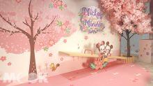 台灣限定迪士尼櫻花季!跟米奇米妮拍照打卡期間限定店