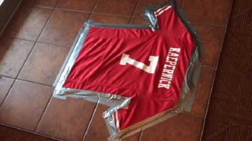 A Restaurant In Virginia Used Colin Kaepernick's Jersey As A Doormat