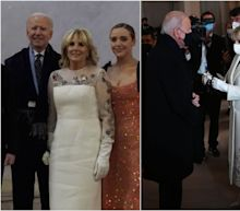 Jill Biden wore a dress adorned with flowers from every US state and territory for the Inauguration Concert