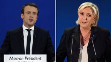 French election 2017: Emmanuel Macron and Marine Le Pen through to presidential run off