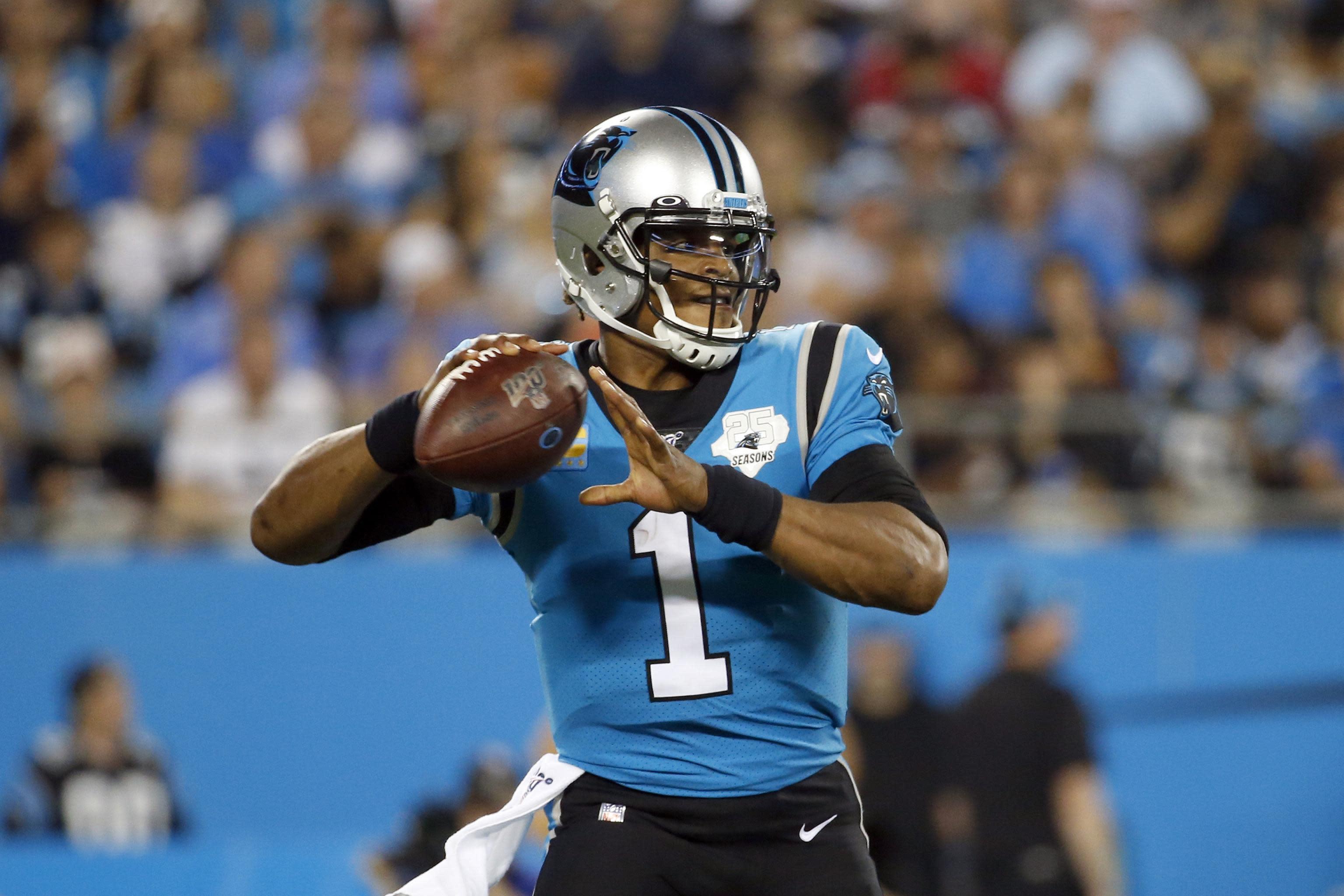 Panthers release quarterback Cam Newton