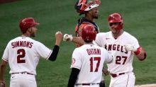 Trout hits 300th career home run, sets Angels career mark