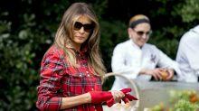 Deshalb lacht das Netz über dieses Outfit von Melania Trump
