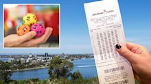 'Totally out of the blue': Couple's surprising reaction to massive lottery win