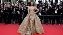 In Pics: Sonam Kapoor Is the Golden Girl at Cannes 2017