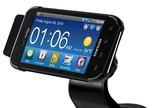 Samsung shows off line of Galaxy S accessories, uses Fascinate to model them