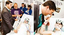 Teen fulfils wish to marry best friend days before her death