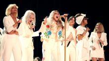 Kesha's #MeToo Grammys moment praised by Sony, sparking social media backlash