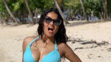 Salma Hayek is embracing aging with a jaw-dropping bikini snap: 'Tomorrow I'm 53. So!?'