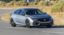View Photos of the 2020 Honda Civic hatchback