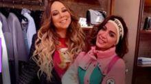 "Anitta ""surta"" de alegria ao receber presente de Mariah Carey"