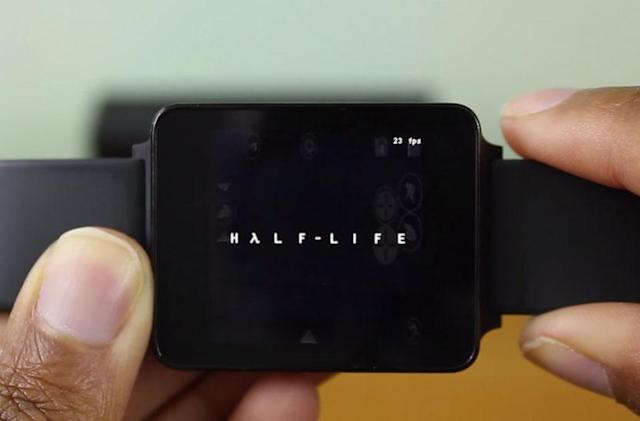 'Half-Life' barely runs on a smartwatch