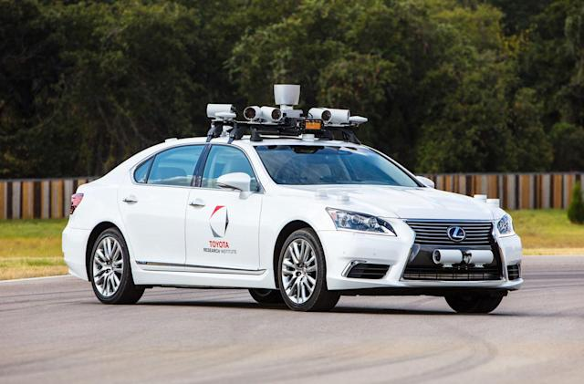 Toyota will test self-driving cars at tough California proving ground