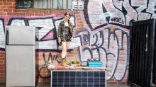 She's building Los Angeles' first solar community fridge. Will it help extinguish hunger?