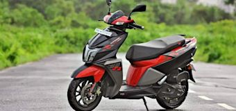TVS Ntorq 125 launched at around Rs. 1.4L in Nepal