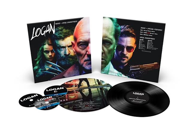 'Deadpool' and 'Logan' Comic-Con editions pair Blu-ray with vinyl