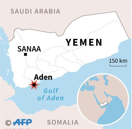 The port city of Aden (AFP Photo/AFP)