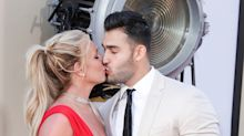 Britney Spears and Sam Asghari Make First Premiere Appearance as a Couple