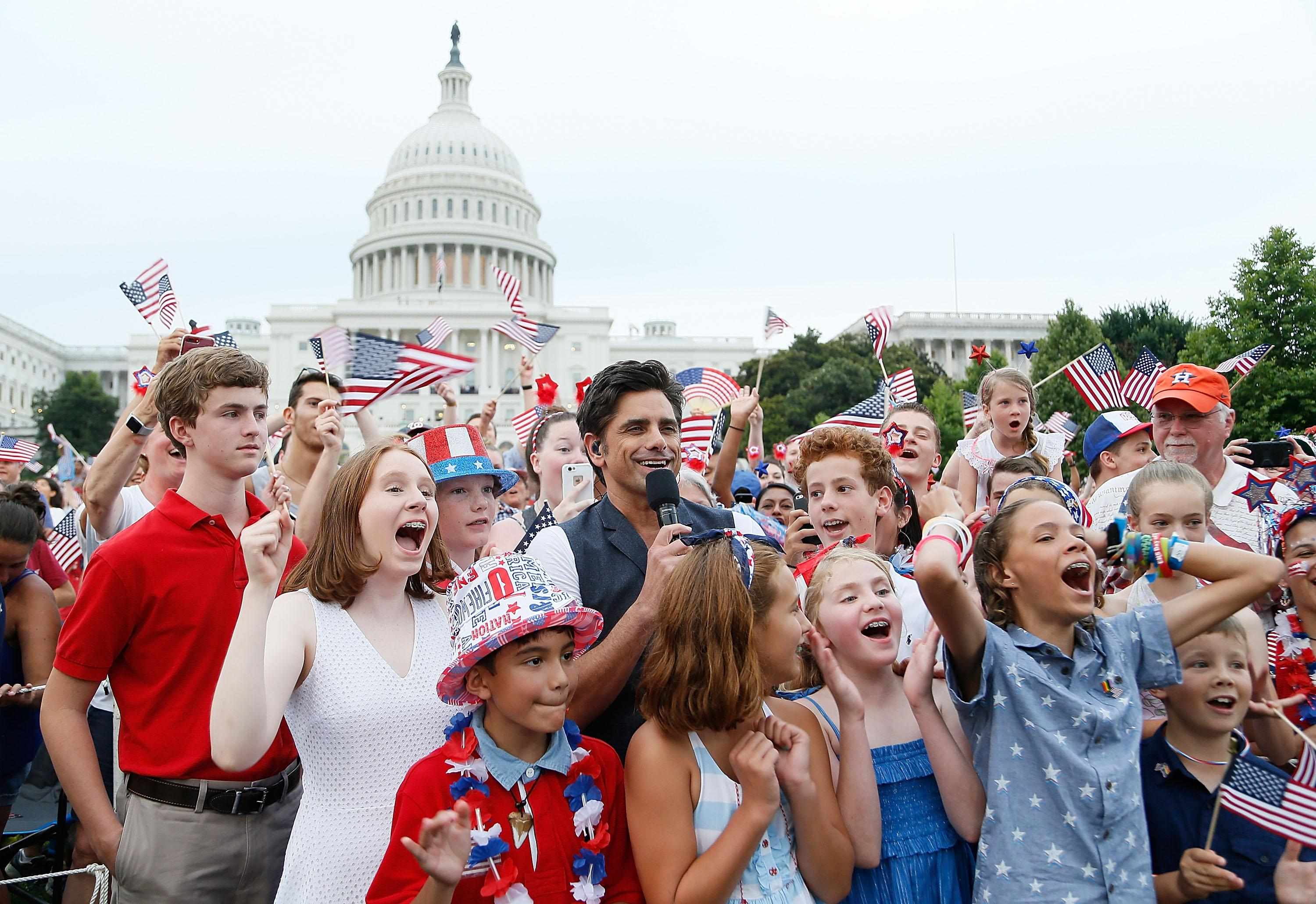 Who will be serenading America at this year's 'A Capitol Fourth' telecast?