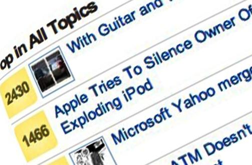 Exploding iPod blows up in Apple's face