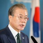 South Korea's Moon says door open for summit at G20, depends on Abe