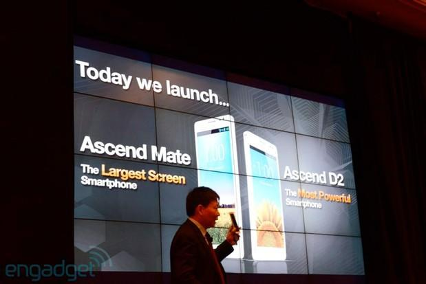 Huawei launches 6.1-inch Ascend Mate