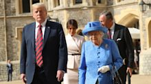 You may have missed Queen Elizabeth's subtle dig at Donald Trump