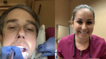 Beto O'Rourke shares video from dentist appointment to discuss the border: 'Boundaries, Beto, boundaries'