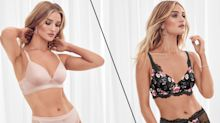 Rosie Huntington-Whiteley's new lingerie collection is now available at M&S