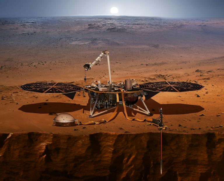 NASA releases sounds of Mars quake picked up by InSight lander