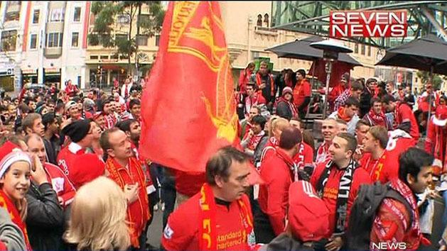 Liverpool take over Melbourne