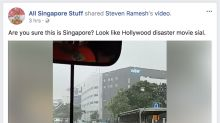 Our new Bedok river! Huat ah! 13 hilarious posts on the flash floods in Singapore