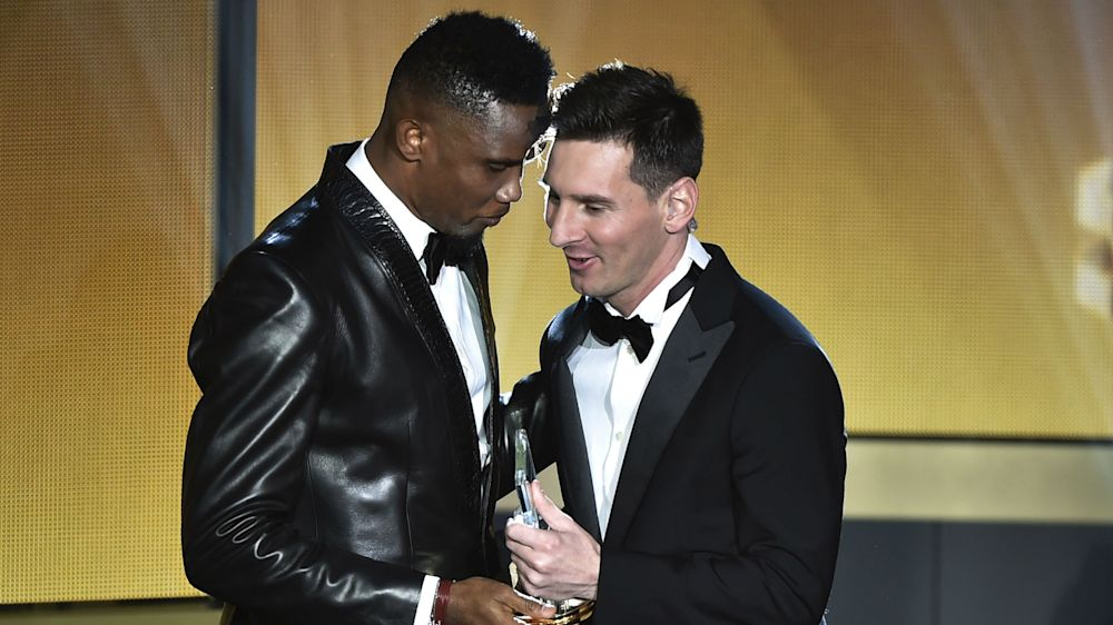 'God is back and has a name...Messi' – Eto'o lauds Barcelona's Clasico hero