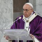 Pope Francis asks people to give up being cruel to each other online for Lent