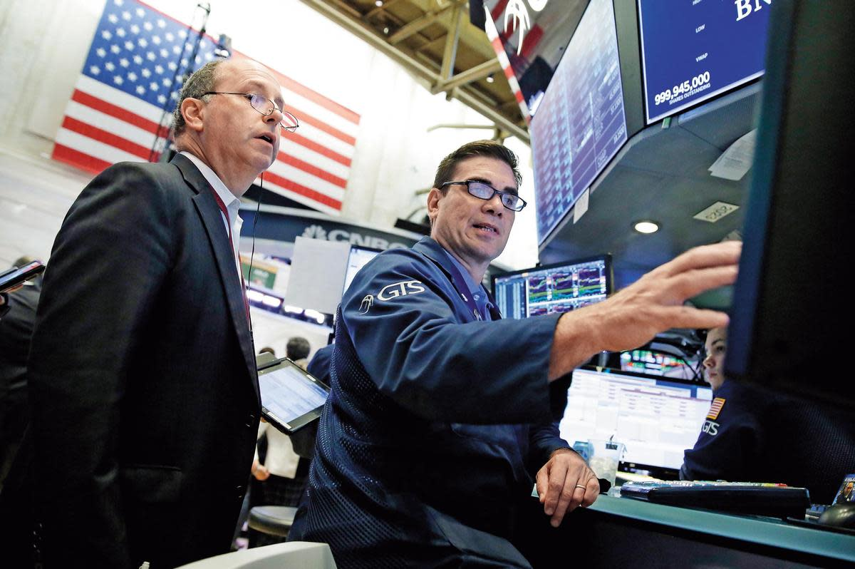 美股長期年化報酬率達9%,只要挑對好公司,買在高檔也不用擔心。(東方IC)