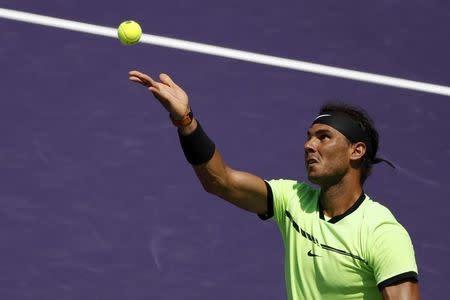 Federer y Nadal jugarán la final del Abierto de Miami