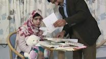 Malala Yousufzai making progress, reads get well cards