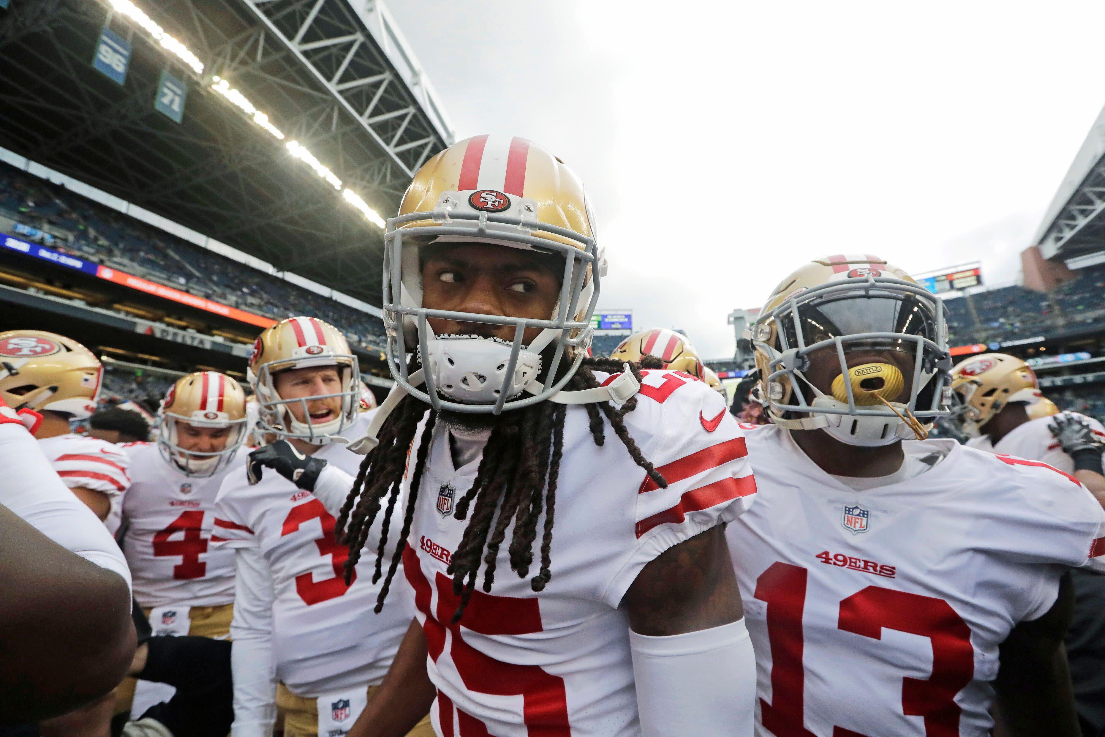 3670c67465f 49ers  Sherman talks new teammate Nick Bosa