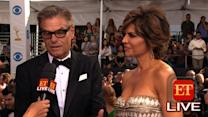 The 65th Emmy Awards Red Carpet: Harry Hamlin & Lisa Rinna
