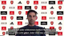 Arteta lässt im Fall Özil tief blicken
