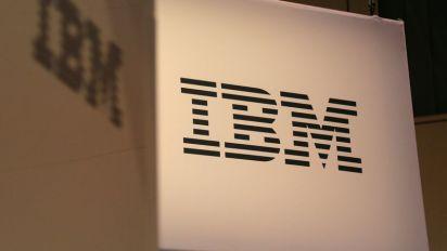 IBM shares fall on weak profit outlook