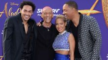 Will Smith brings out the whole family for 'Aladdin' premiere