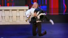 Adorable Dog Sneaks Into 'America's Got Talent' Finals, Thanks Simon Cowell