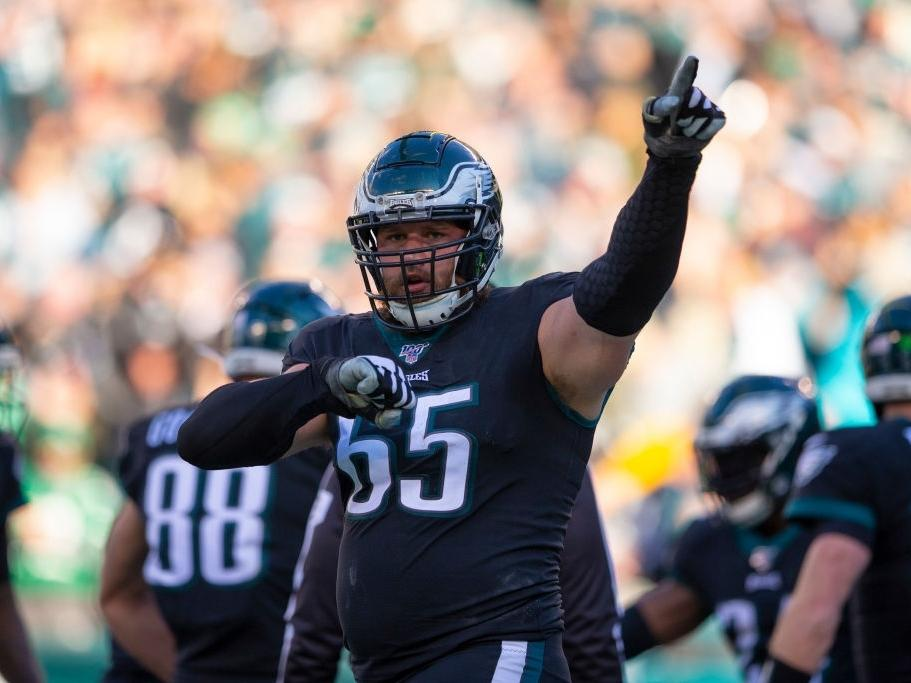 Eagles standout tackle Lane Johnson has tested positive for coronavirus.
