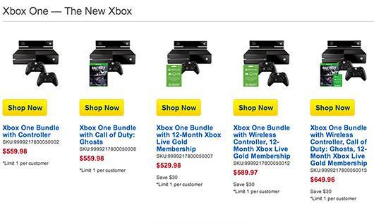 Best Buy unwraps five new Xbox One bundles in time for the holidays