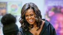 Michelle Obama shows off her natural hair while thanking fans for their birthday wishes