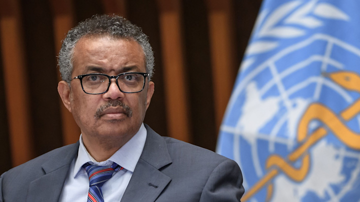 WHO chief expresses alarm over COVID-19 infection rate