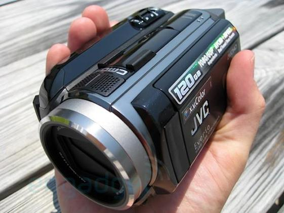 Hands-on and unboxing: JVC Everio HD40 camcorder