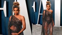Ciara takes pregnancy fashion to new levels at the Oscars 2020
